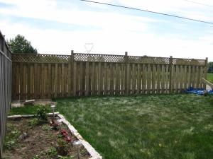 Steve and Kath's fence